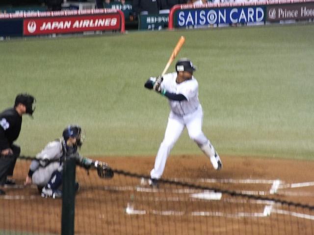 西武の5番 エルメスト・メヒア 2014年本塁打王