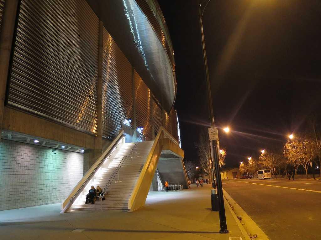 「SAPセンター・アット・サンノゼ」の外周
