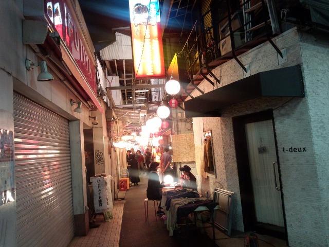ハモニカ横町(ハーモニカ横丁)の様子