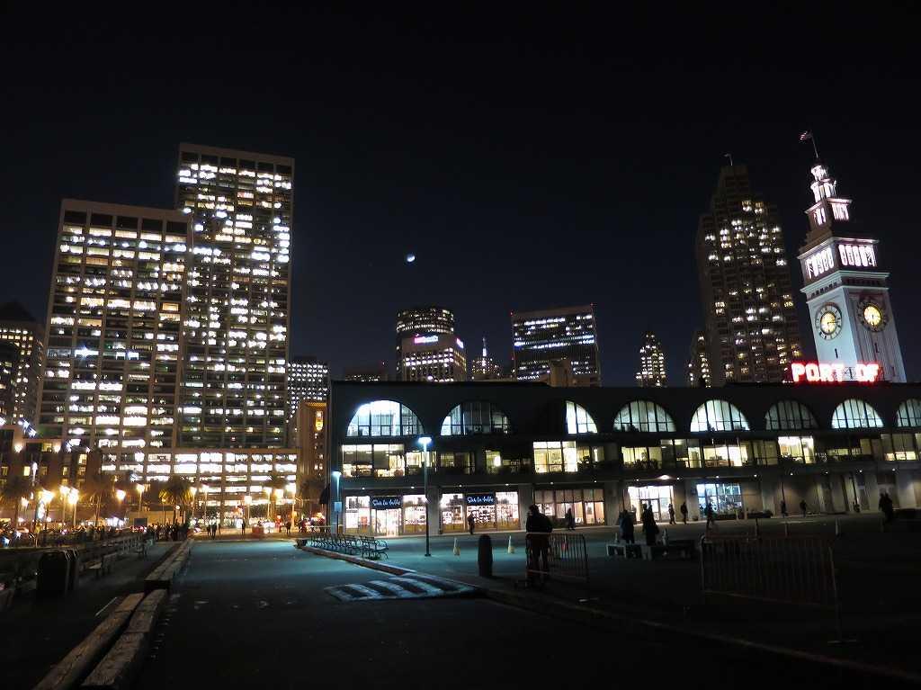 サンフランシスコ - フェリー・ビルディング裏側