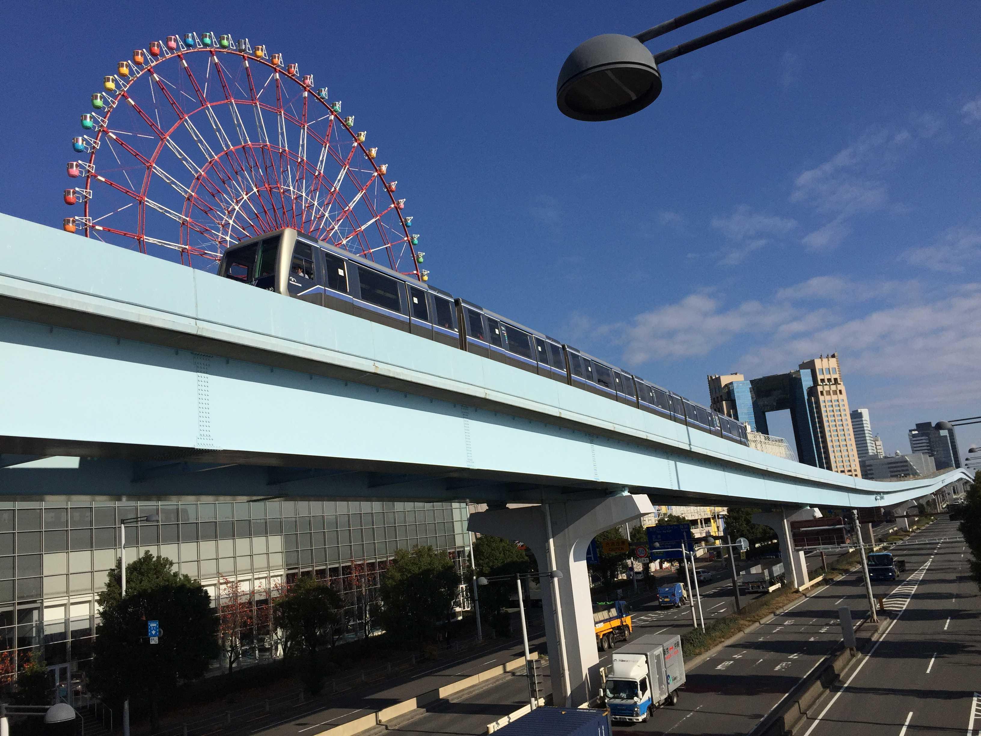 ゆりかもめ - 青海駅