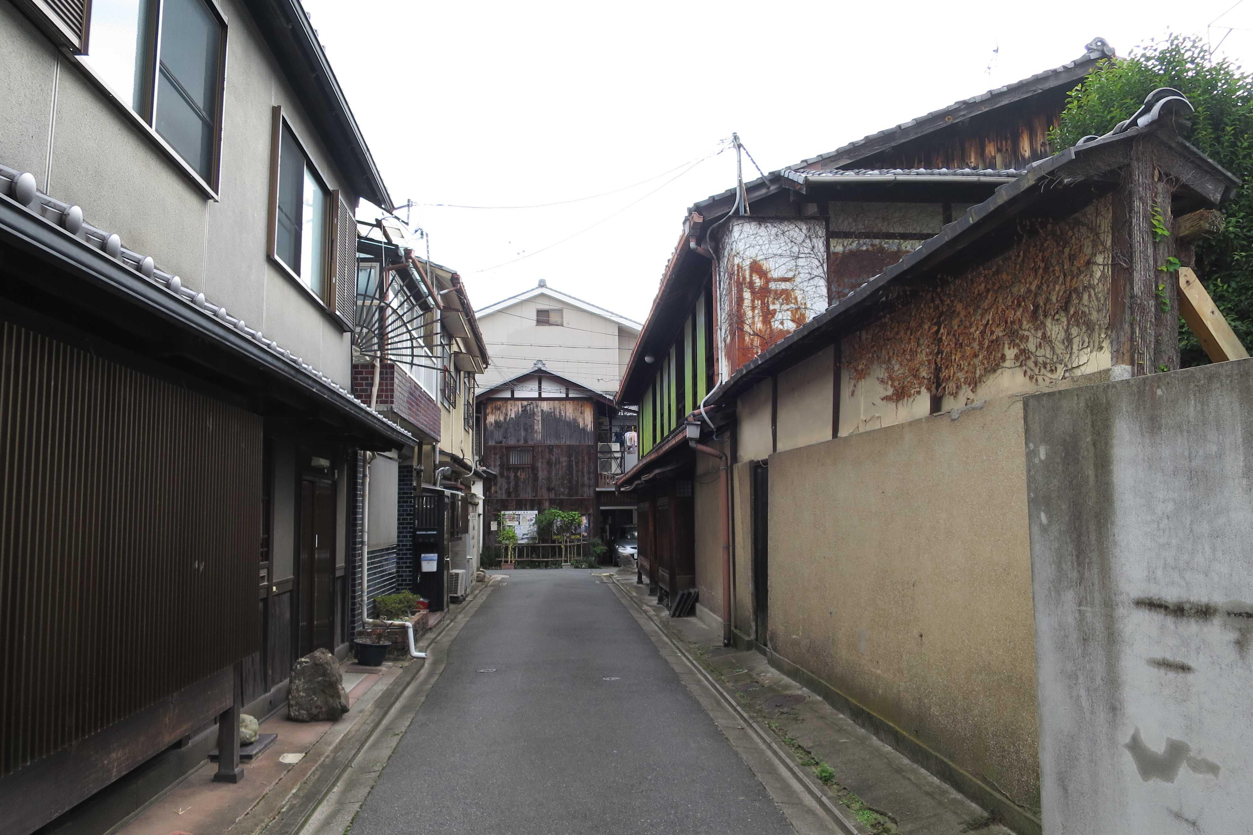 京都 - 旧五条楽園の小路(小径)