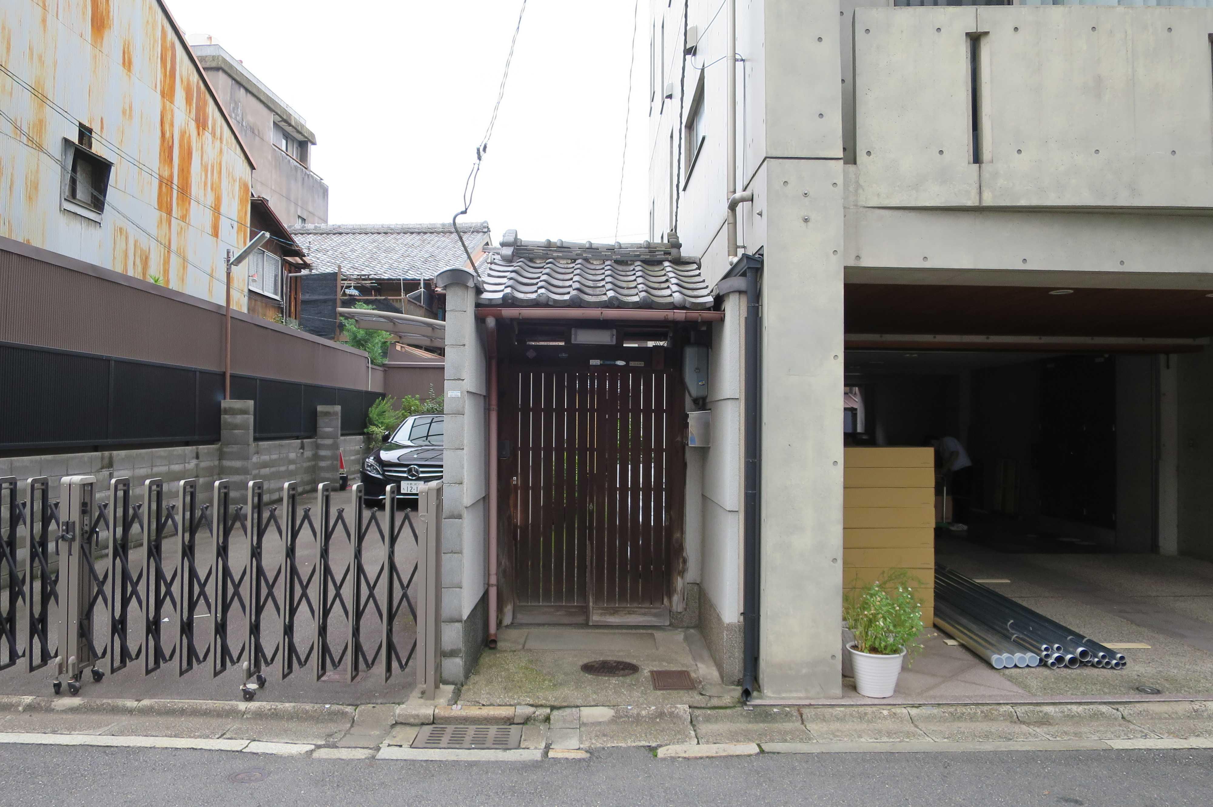 格子の門(京都市下京区)