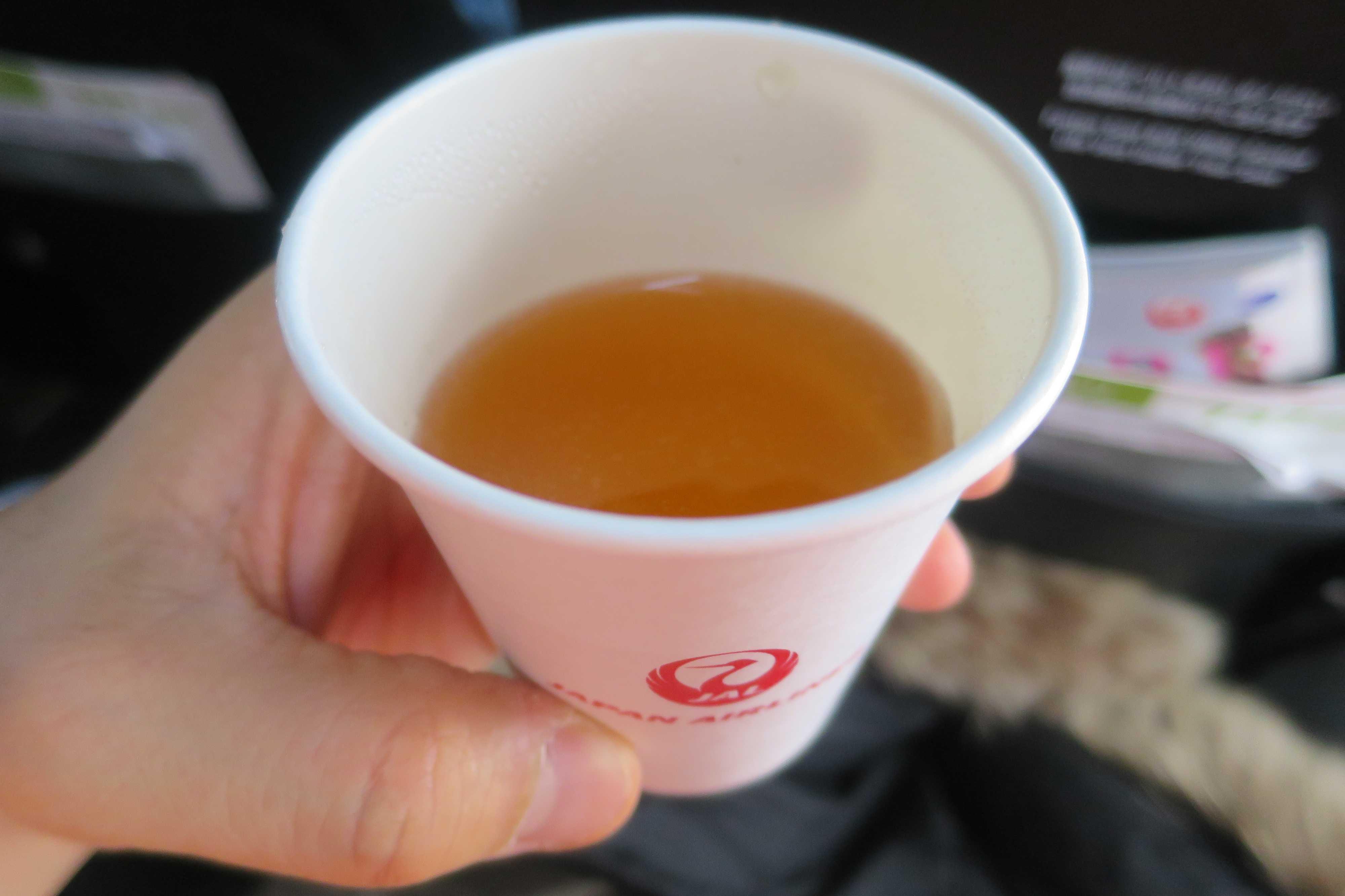 JALのコンソメスープ