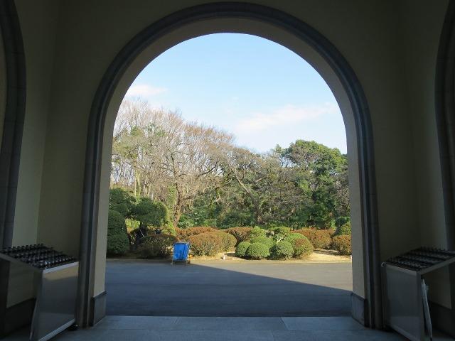 東京都庭園美術館(旧朝香宮邸)のアールデコ様式の玄関