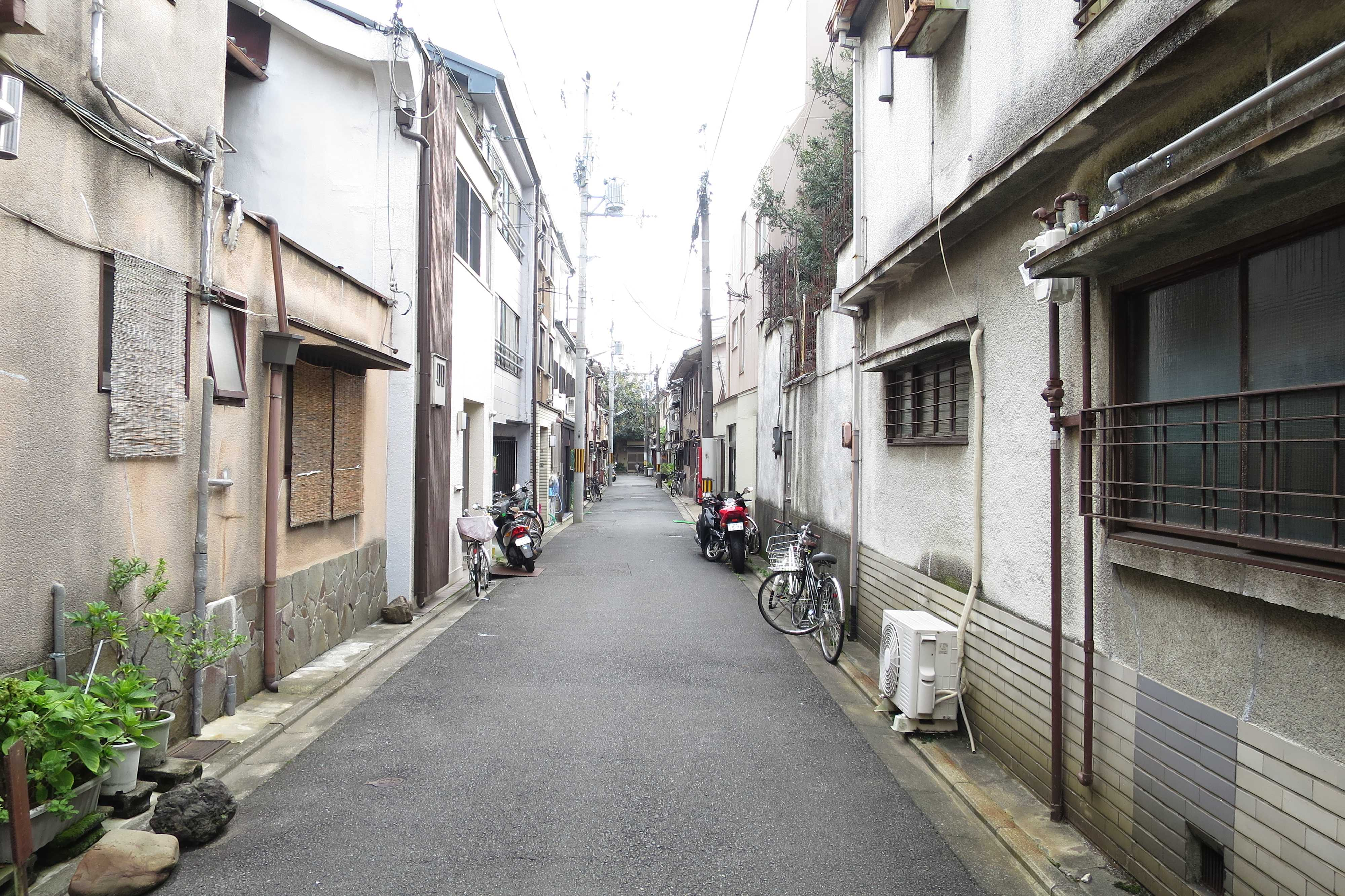 歴史の彼方に消えた五条楽園(京都市)
