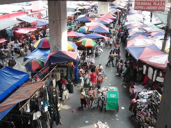 フィリピン・マニラ「バクララン・マーケット」