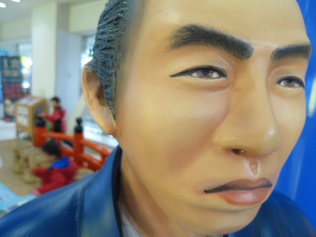 高知龍馬空港にいた坂本龍馬