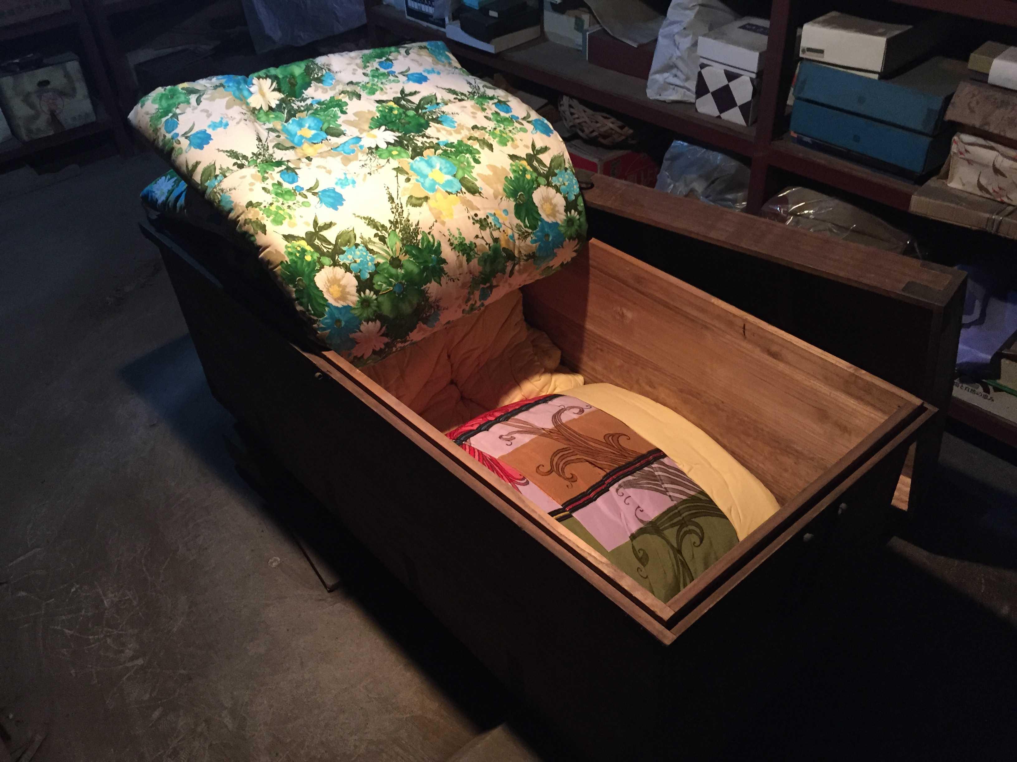 かけぶとん - 昭和42年当時の宝物