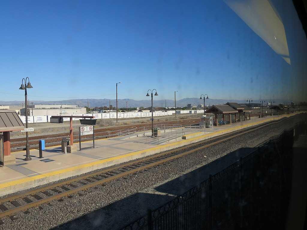 カルトレインの車窓 49 - Santa Clara 駅