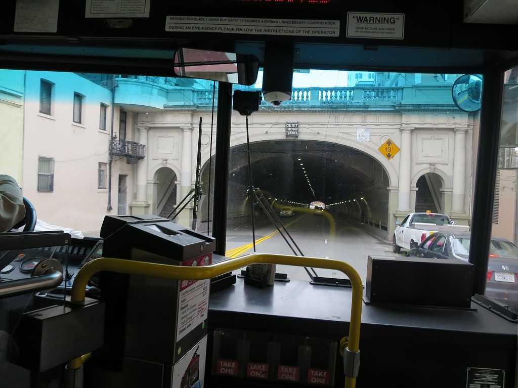 サンフランシスコ - ストックトン・ストリート・トンネル(Stockton Street Tunnel)