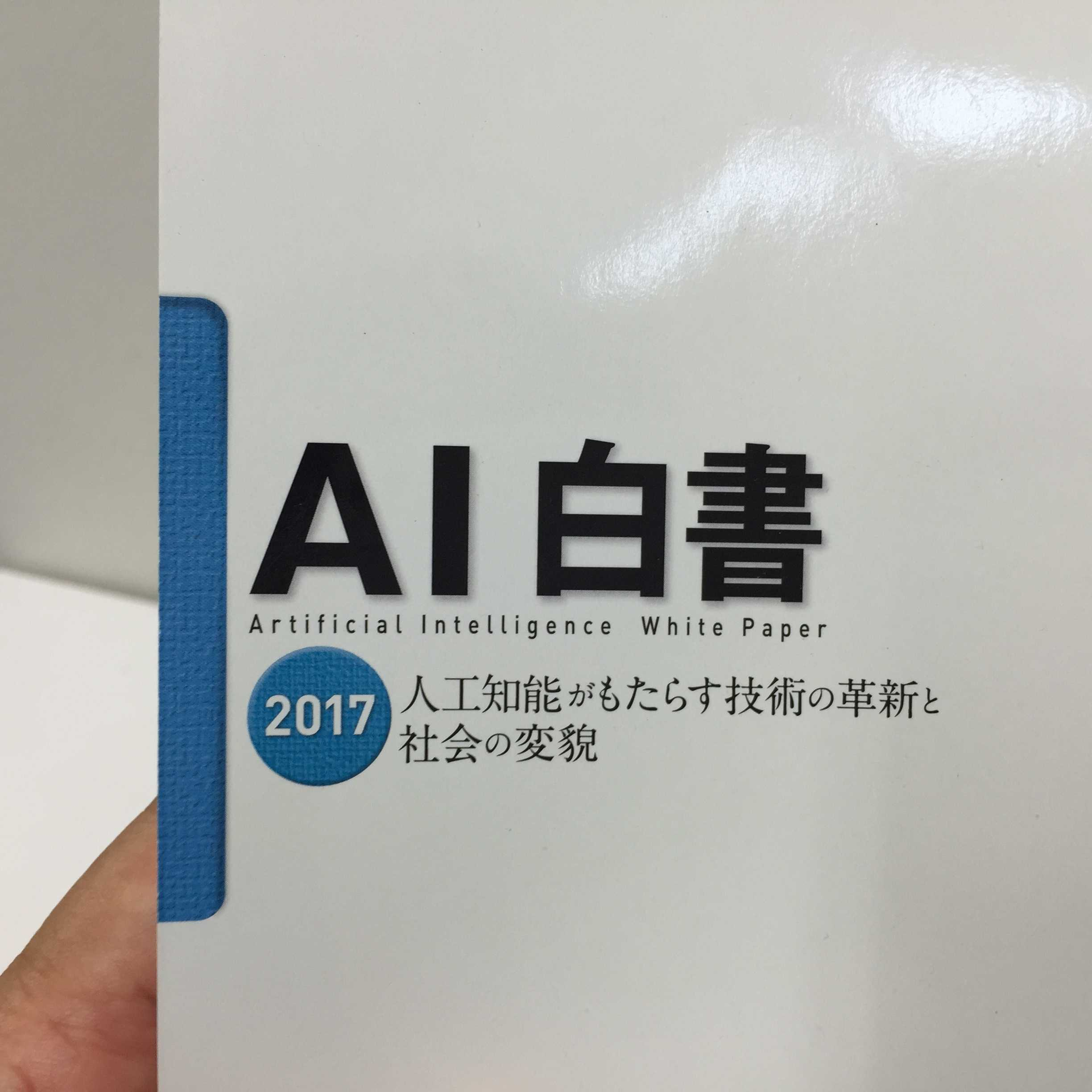 AI白書 2017 - Artificial Intelligence White Paper 2017