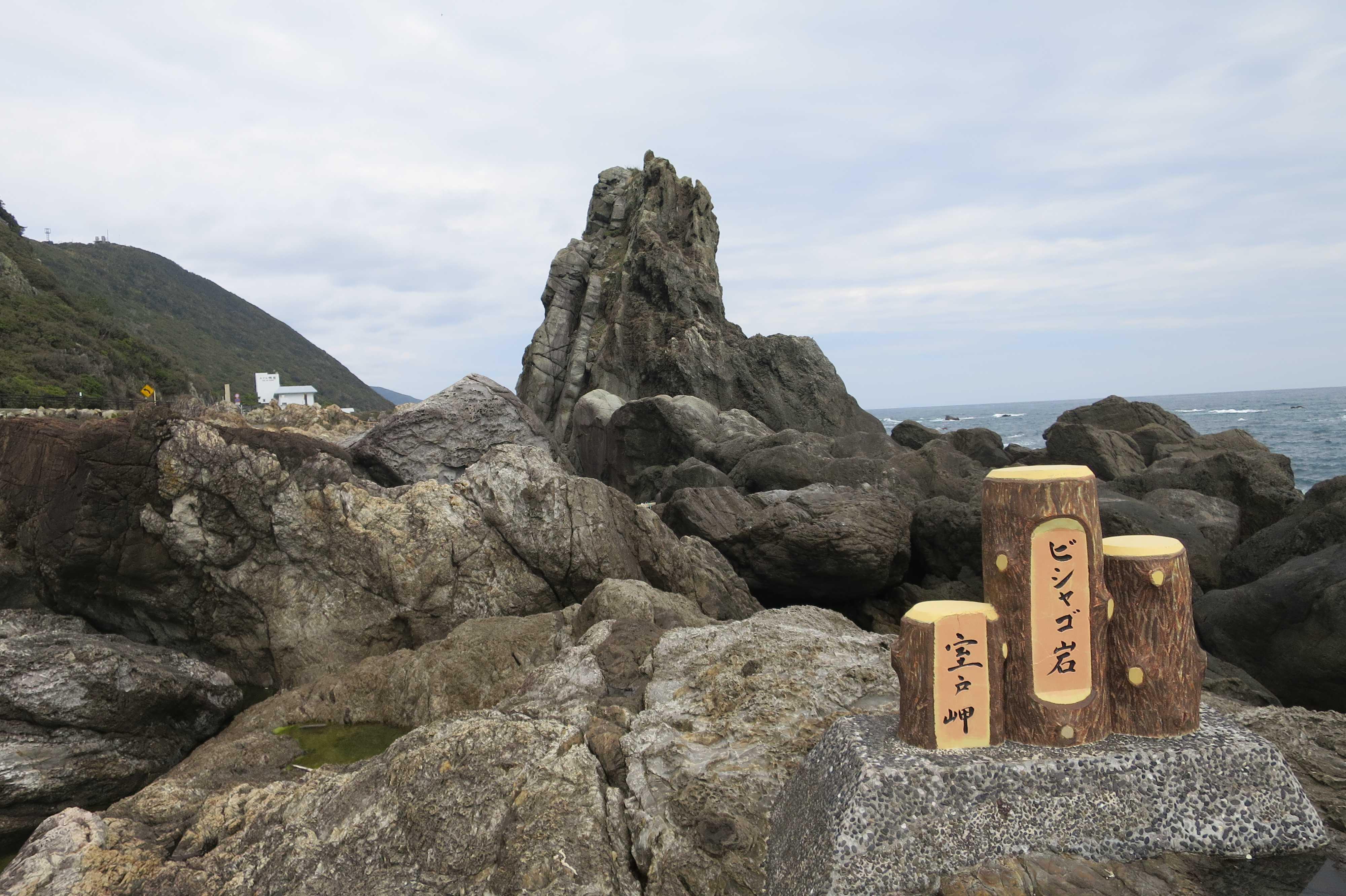 ビシャゴ岩  - 室戸岬