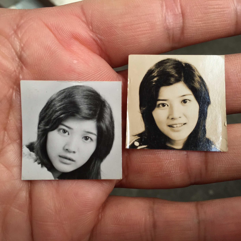 桜田淳子のブロマイド写真