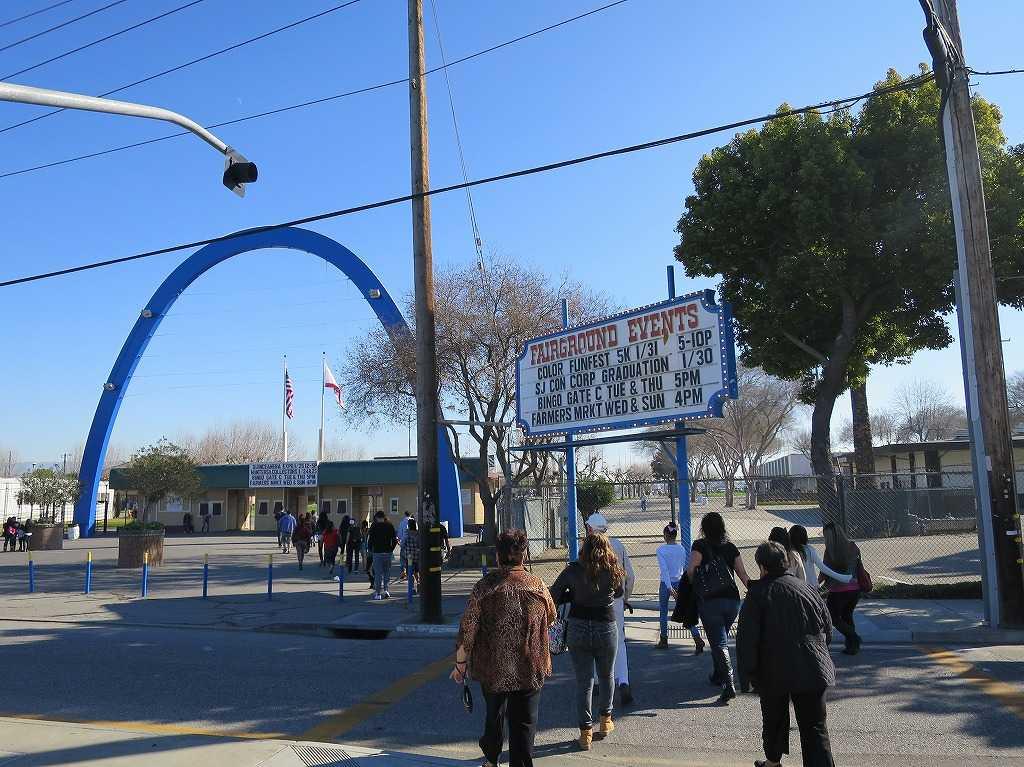 サンノゼ - サンタクララ・フェアグラウンズ(Santa Clara County Fairgrounds)