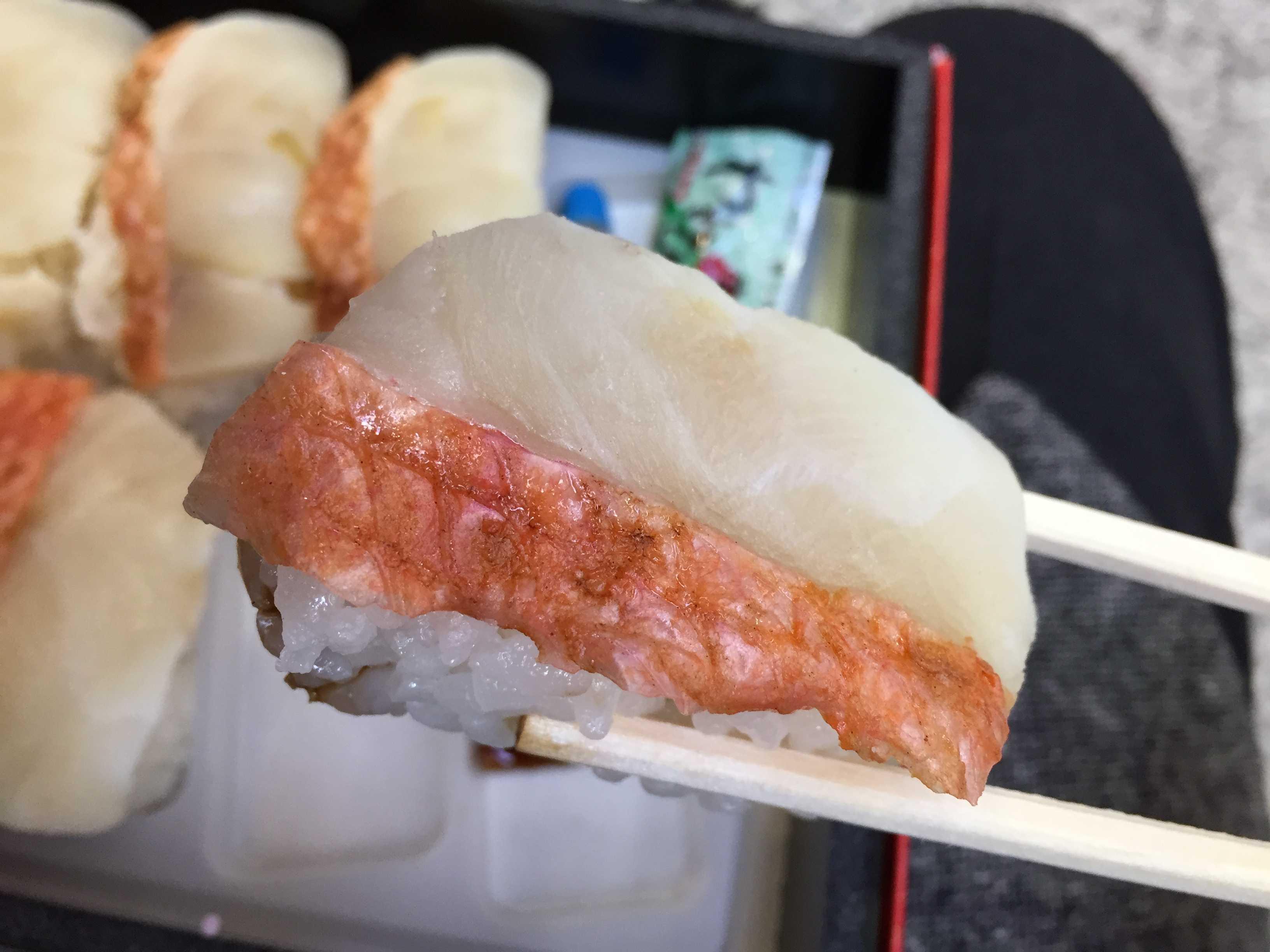小田原 金目鯛炙り寿司