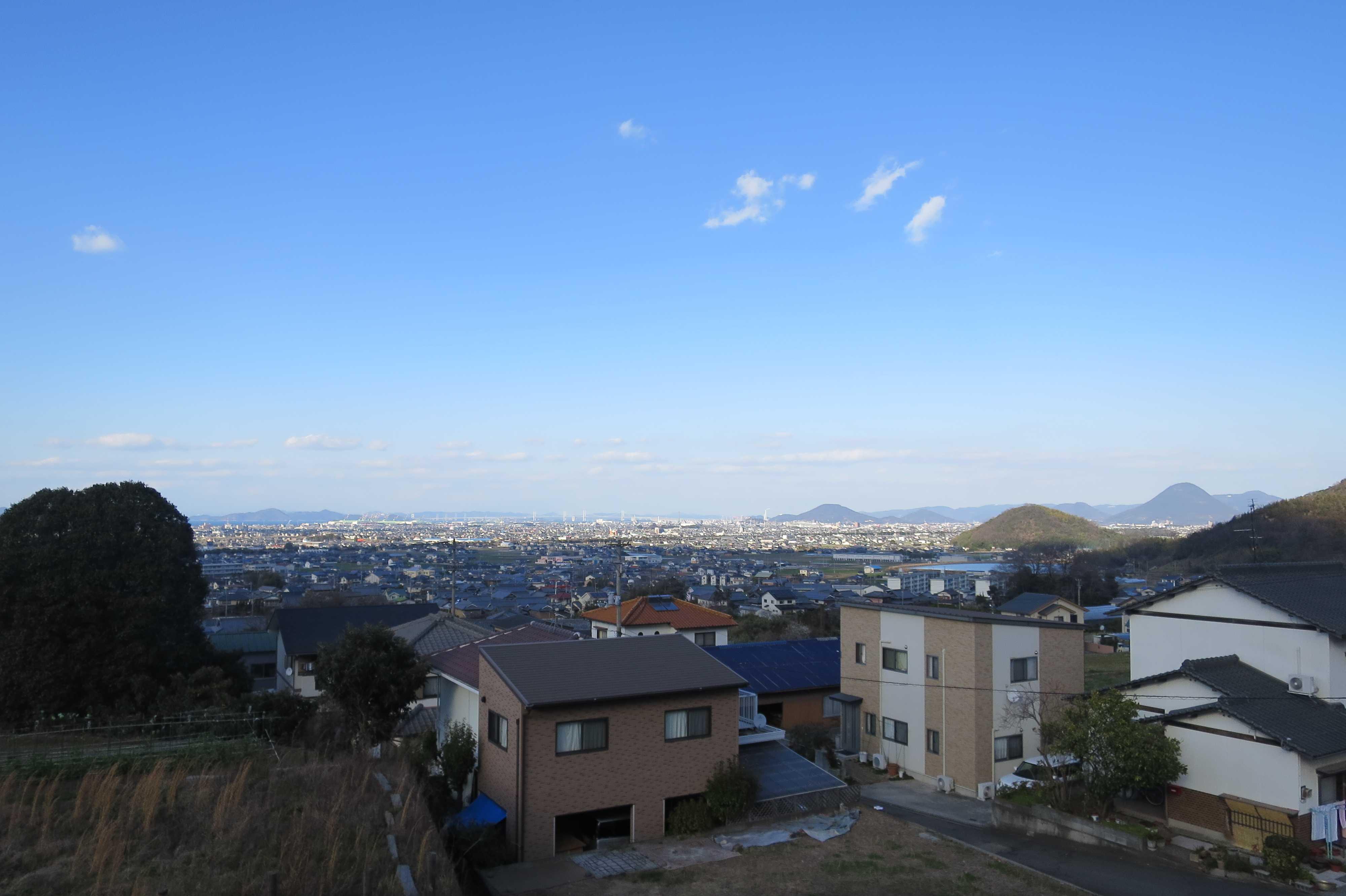 出釈迦寺前からの眺め