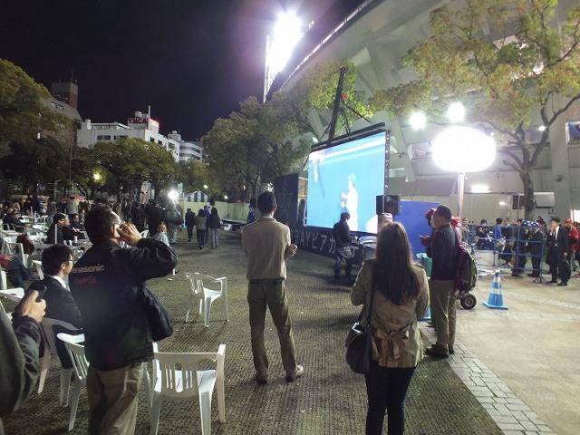 横浜スタジアム(ハマスタ)のBAYガーデン