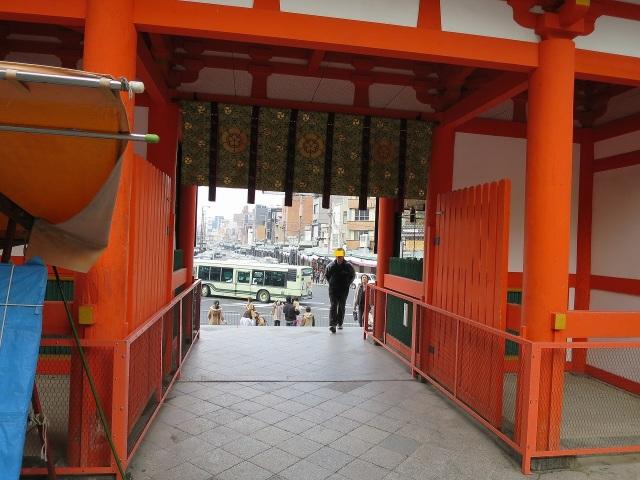 八坂神社 山門