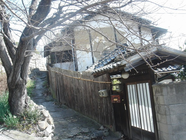 鞆の町の路地