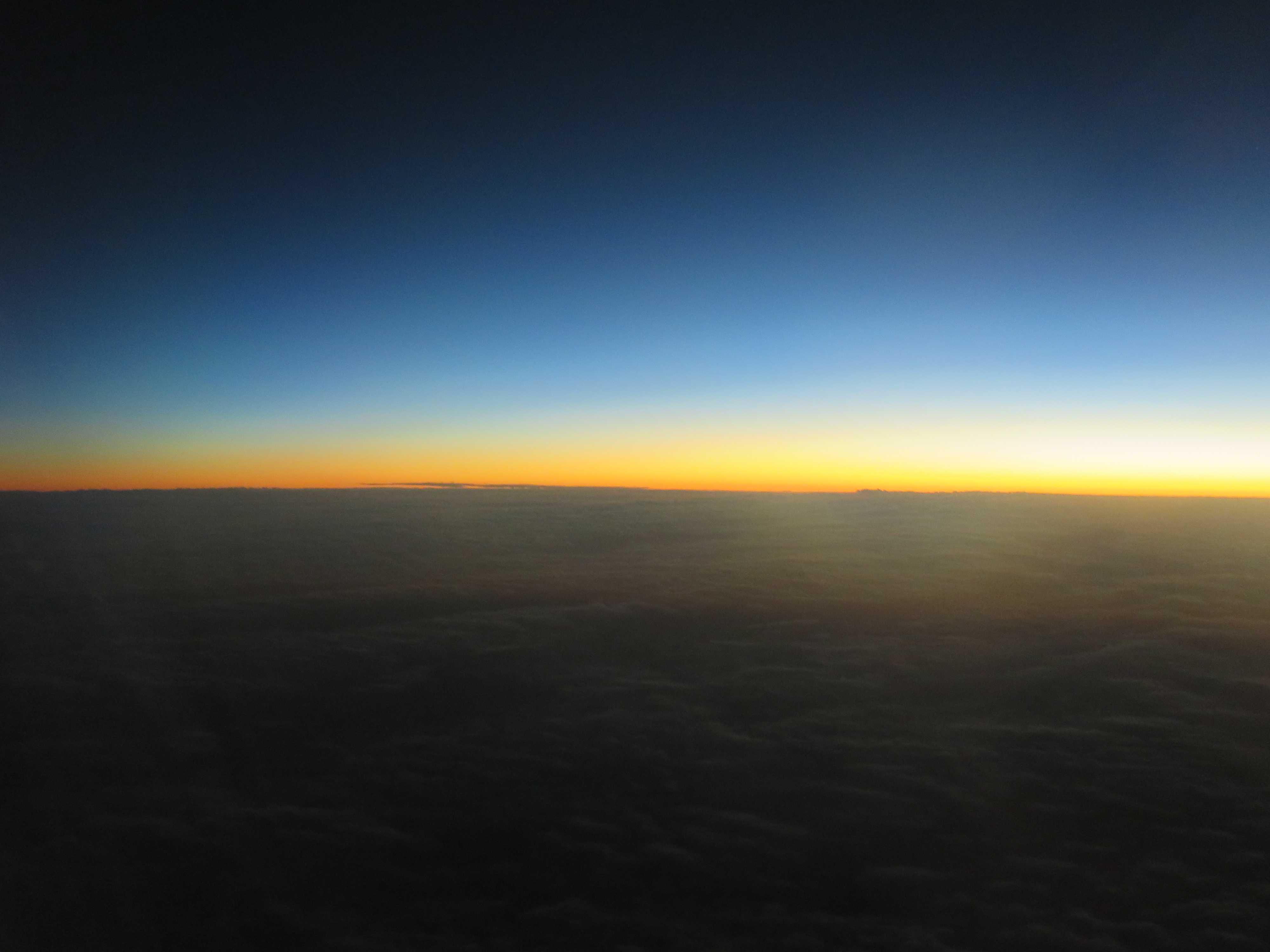 ジェットスター - 美しい空の上