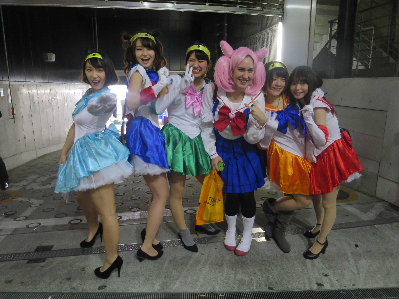 渋谷ハロウィーン - セーラームーン