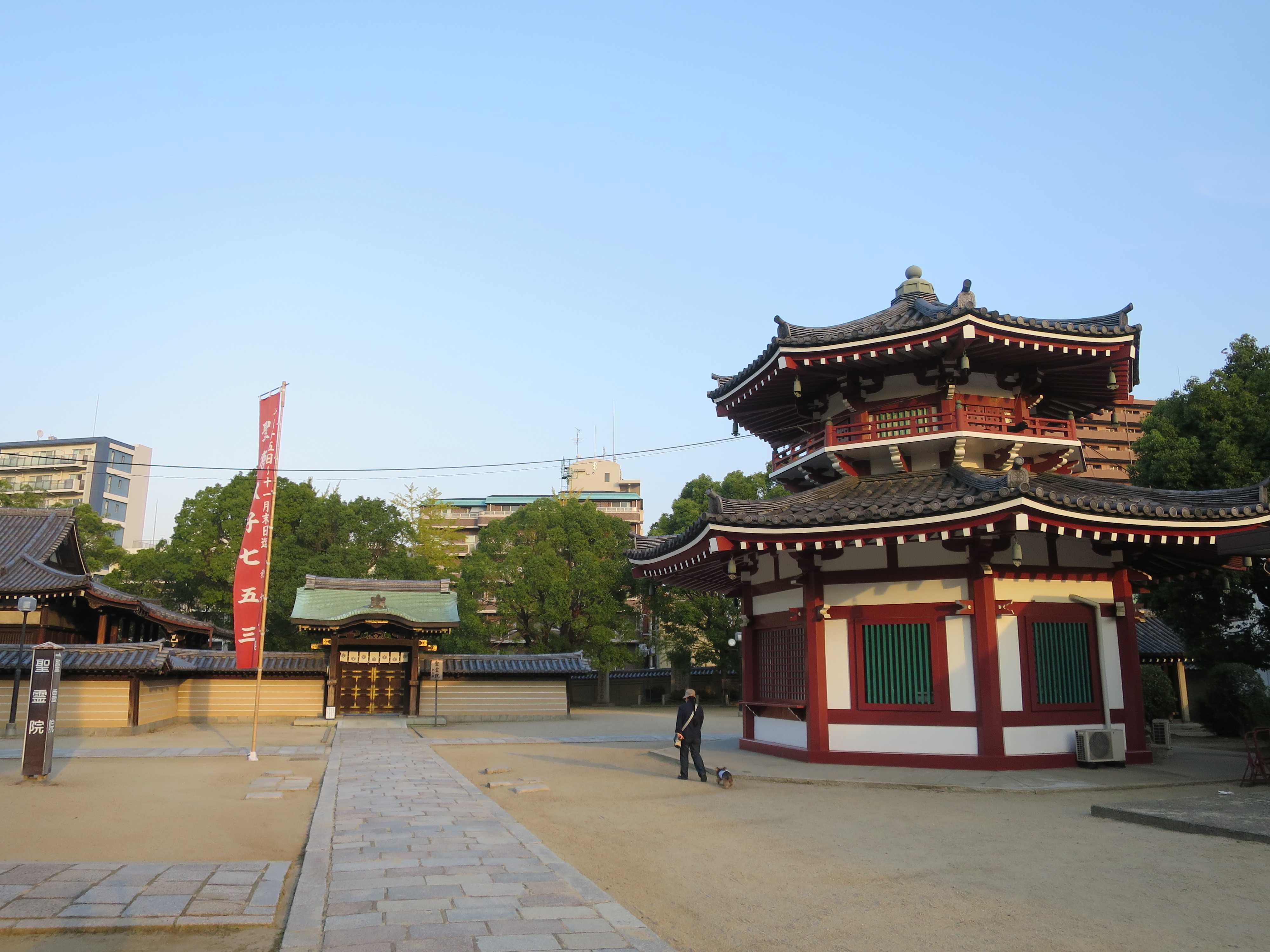 四天王寺 南鐘堂(鯨鐘楼)