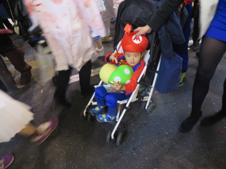 渋谷ハロウィン - ちびっこマリオ