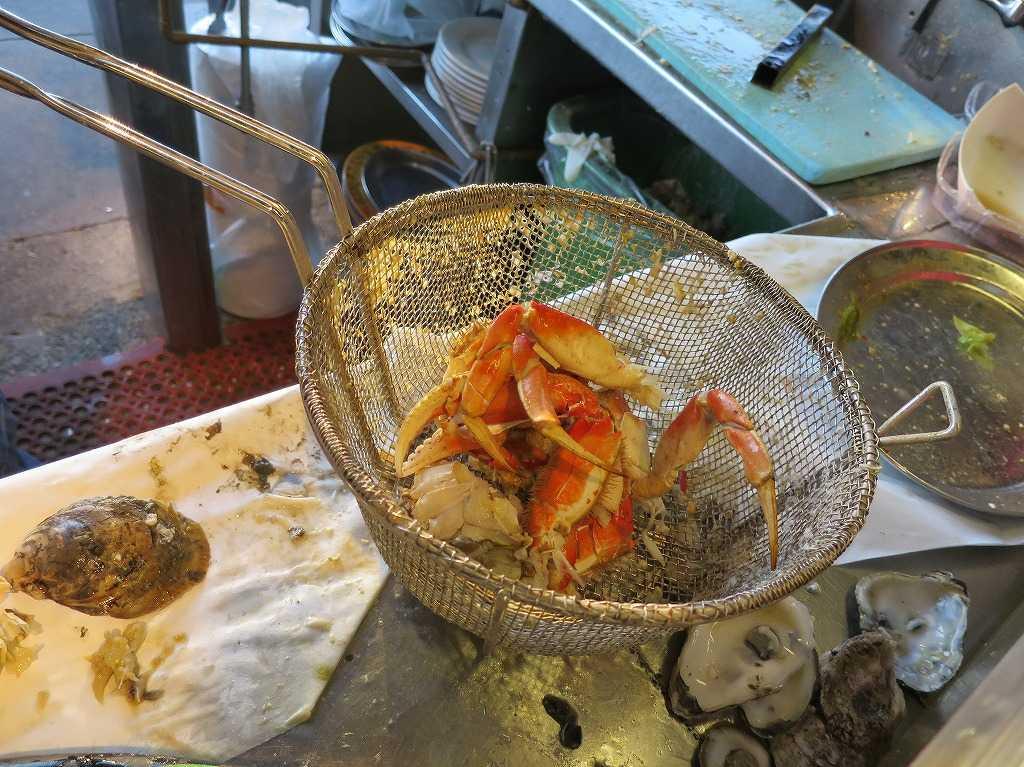 フィッシャーマンズワーフ - 蟹を茹でる網