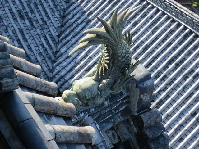 高知城のシャチホコ