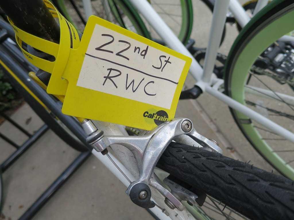 EVERNOTE(エバーノート)本社の自転車