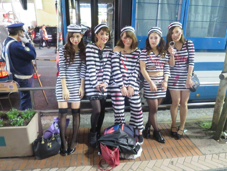 渋谷ハロウィーン - 女囚たち