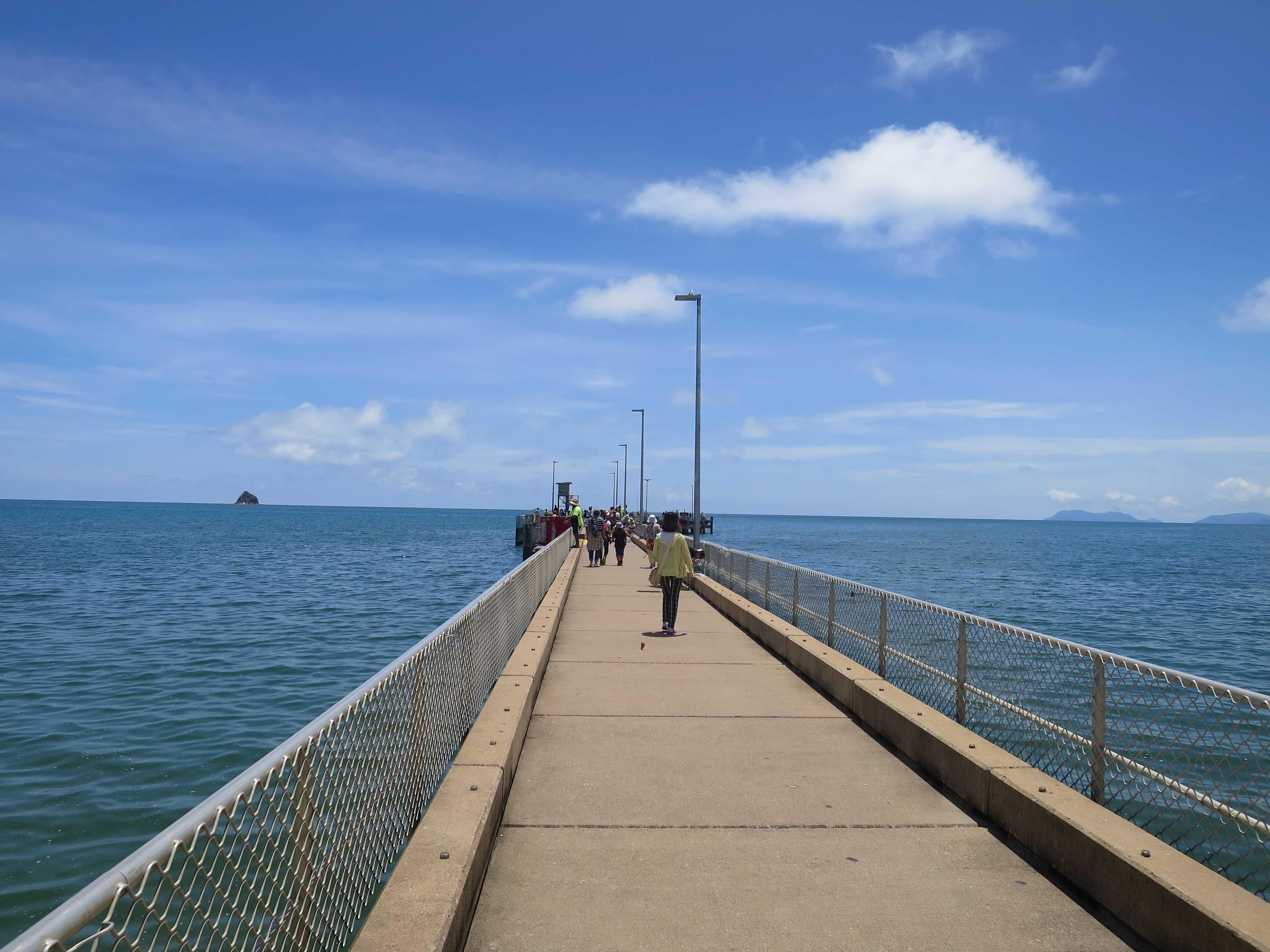 パームコーブビーチ - 突堤