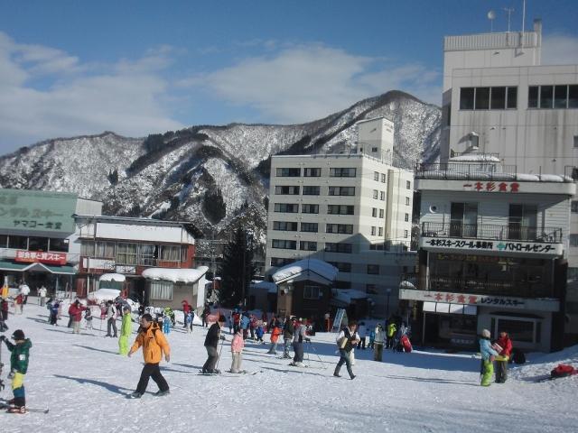 一本杉スキー場のゲレンデ