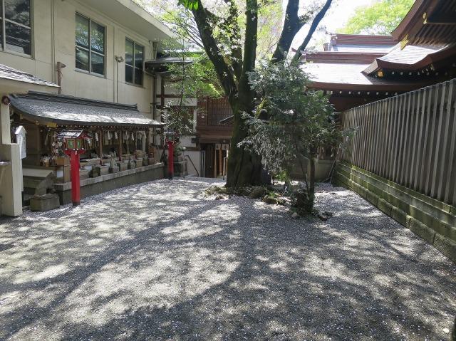 春の子安神社(東京都八王子市)