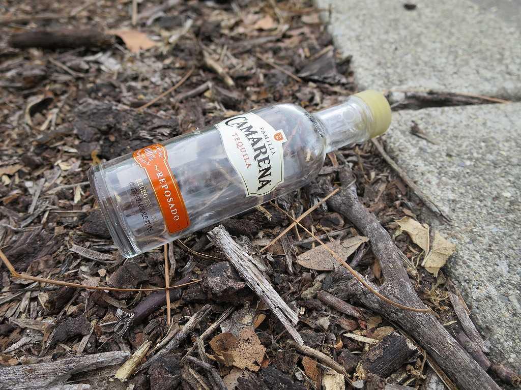 サラトガ - テキーラの瓶