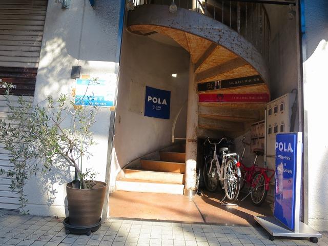 高知市内のおしゃれな階段