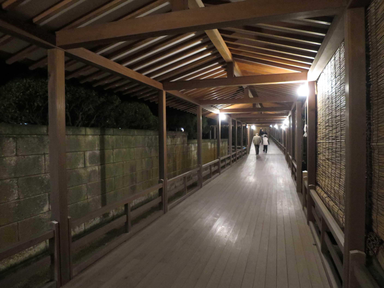 長い廊下 - 遊行寺
