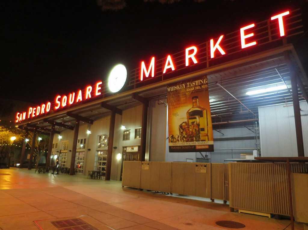 サンノゼ - サンペドロ・スクエアマーケットの外観