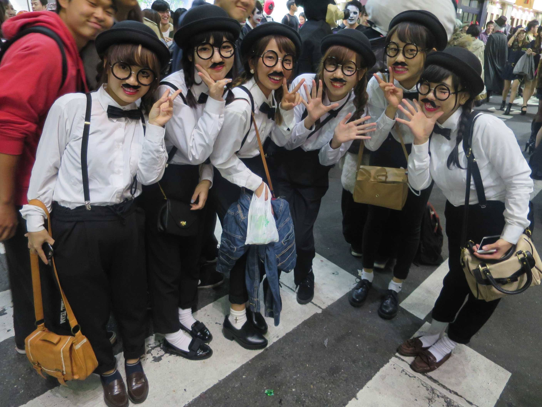渋谷ハロウィン - 平和な国・日本