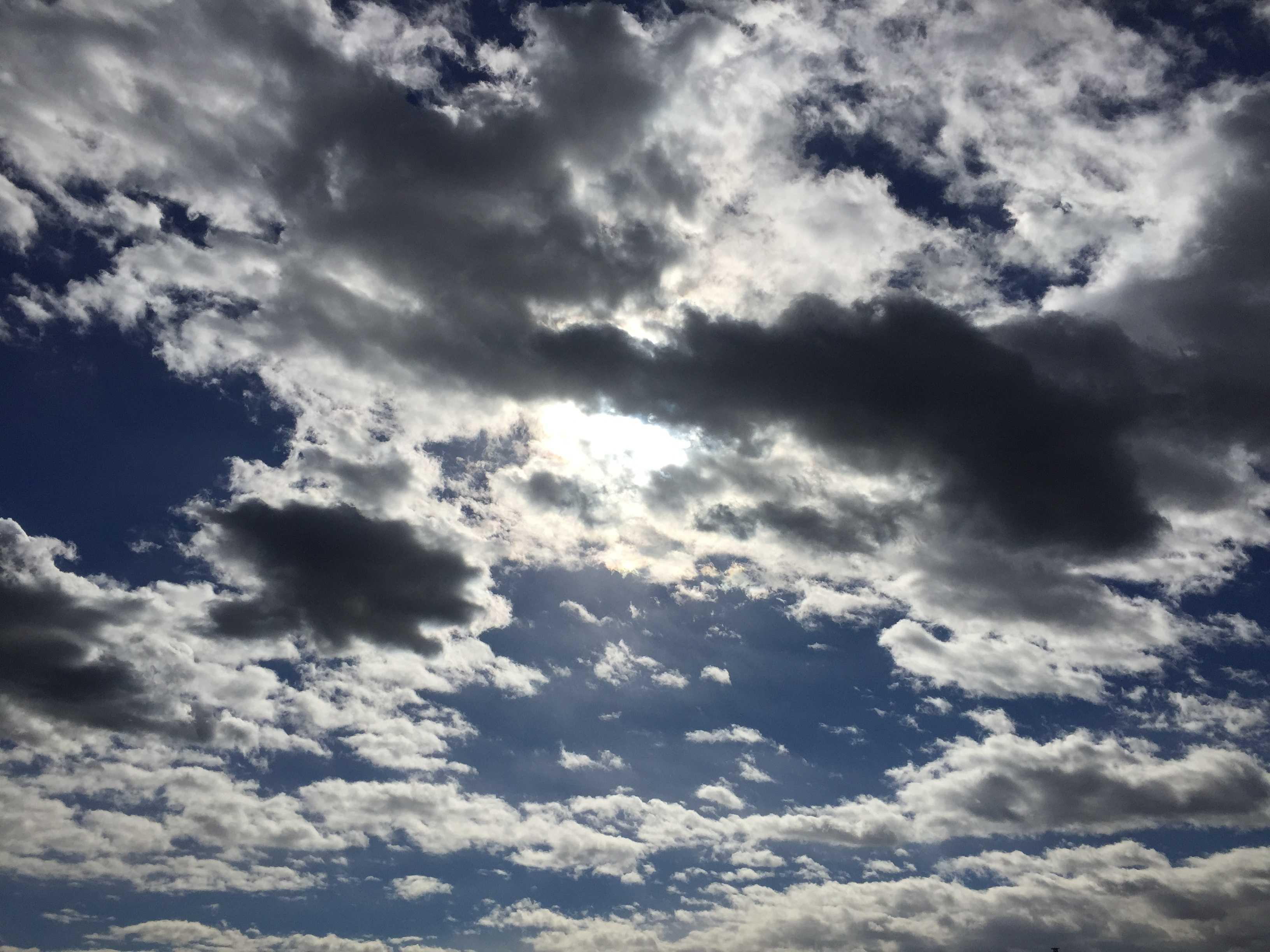 平成29年(2017年) 1月17日の八王子の空