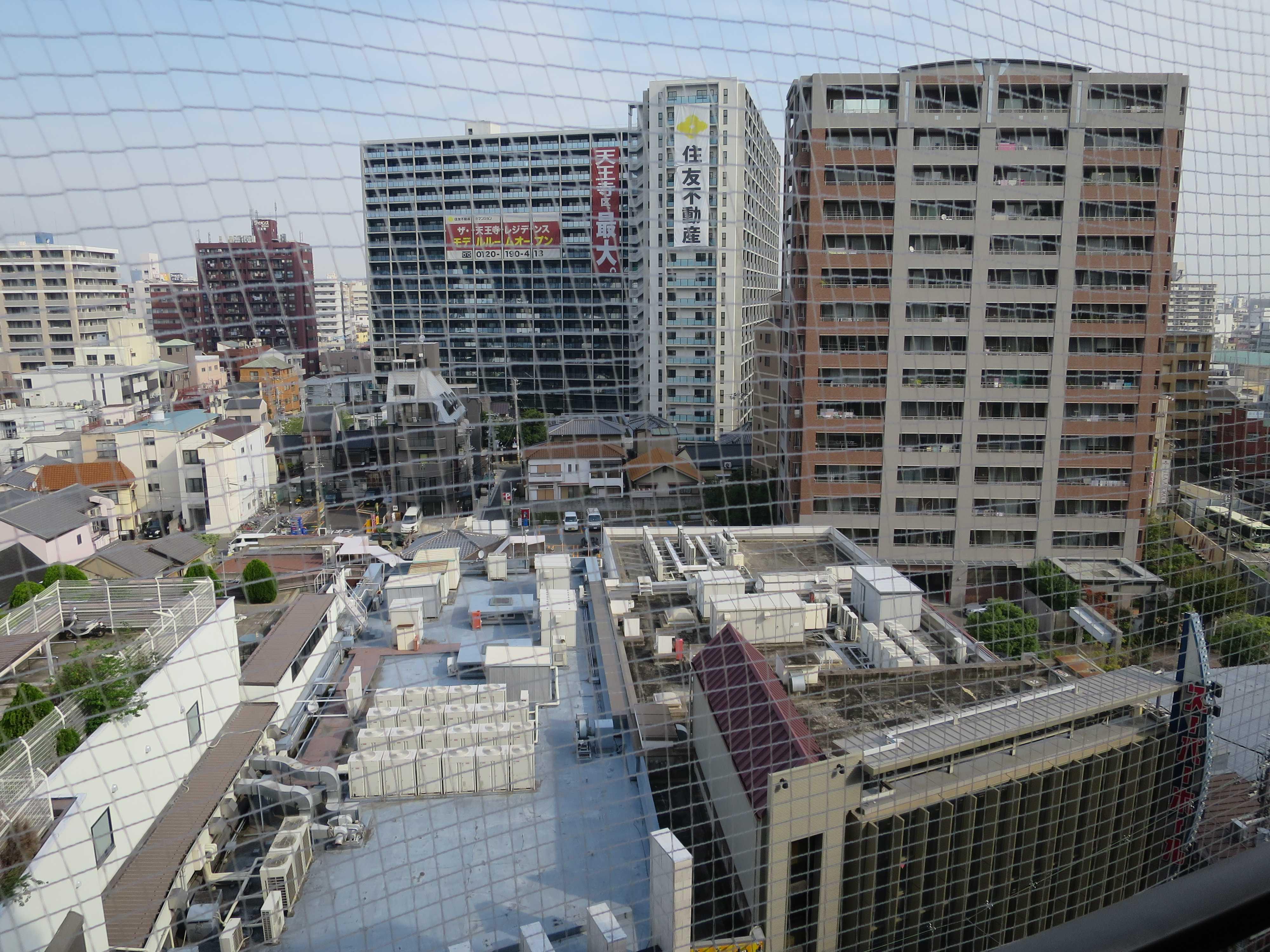 アーベイ天王寺 レストルームからの景色
