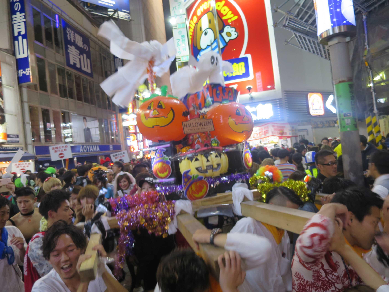 渋谷ハロウィーン - カボチャ神輿渡御