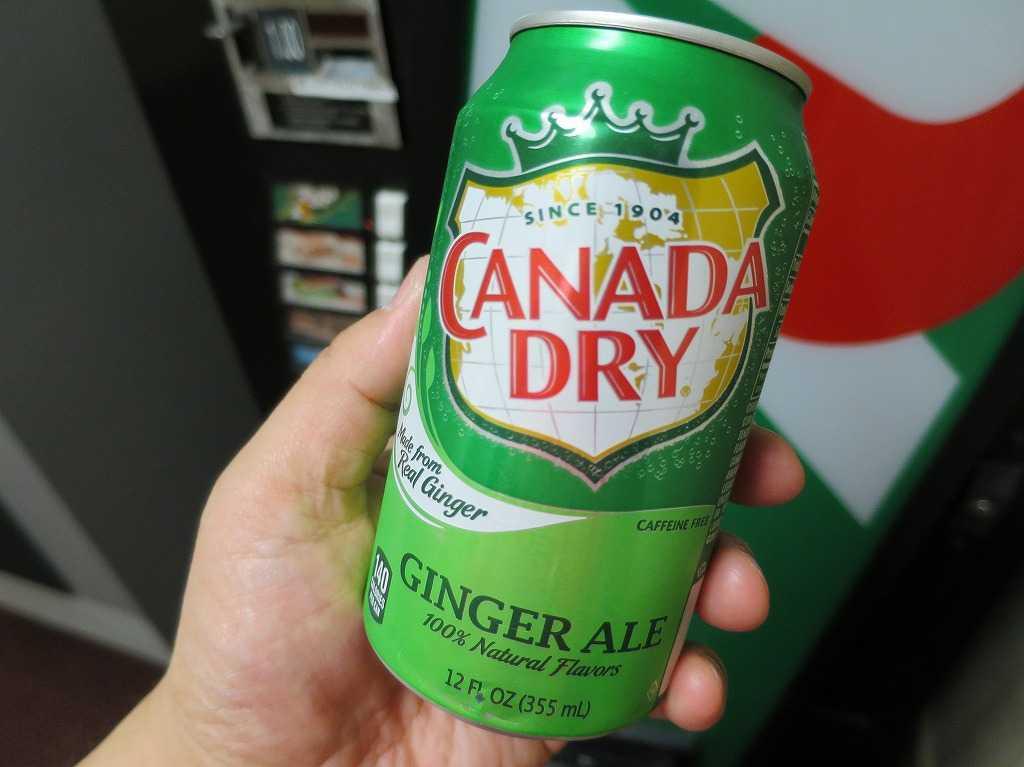 サンフランシスコ - カナダドライ(ジンジャーエール)の缶