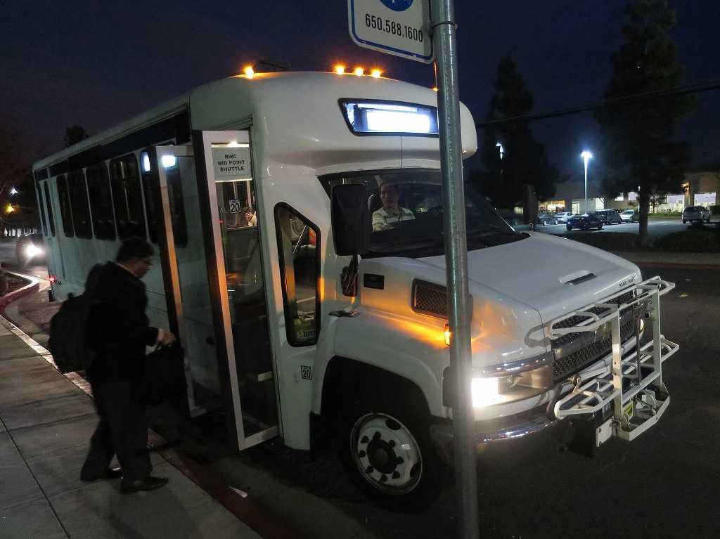 レッドウッドシティ - シャトルバス