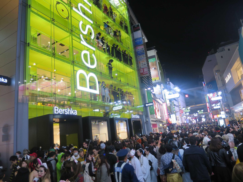 渋谷ハロウィン - 人多過ぎ