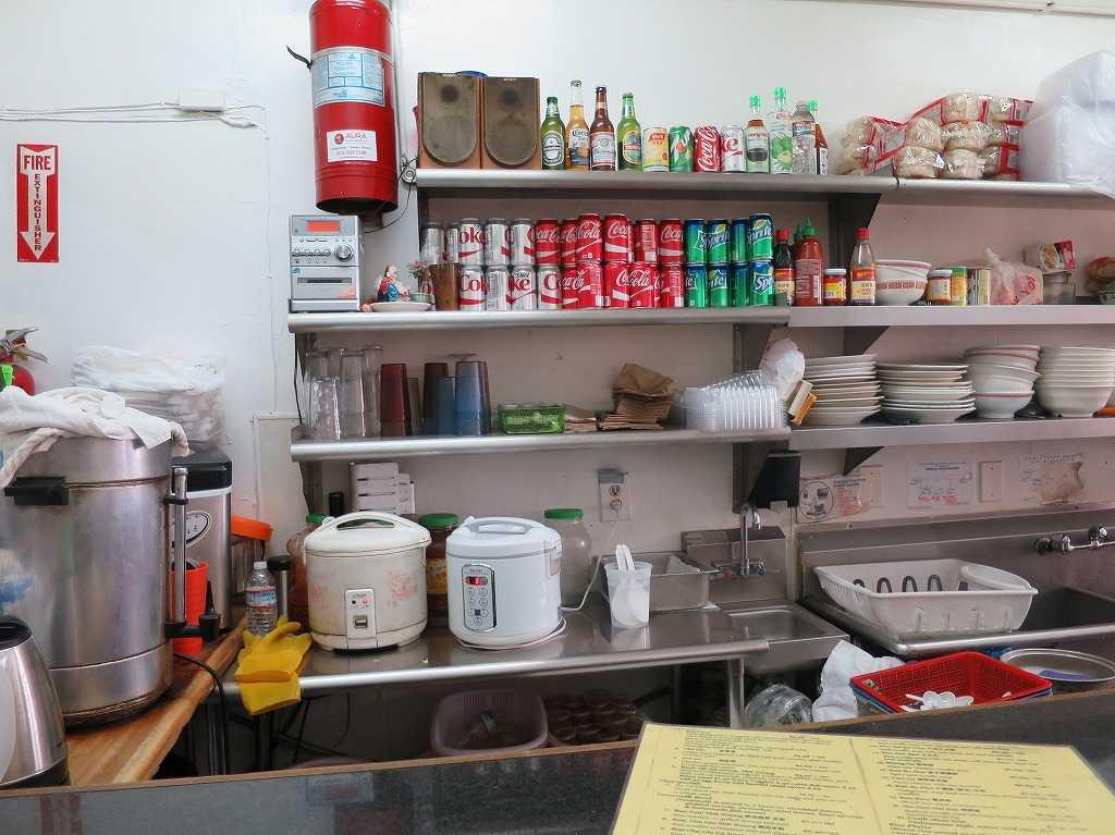サンフランシスコ - ベトナム料理店の厨房