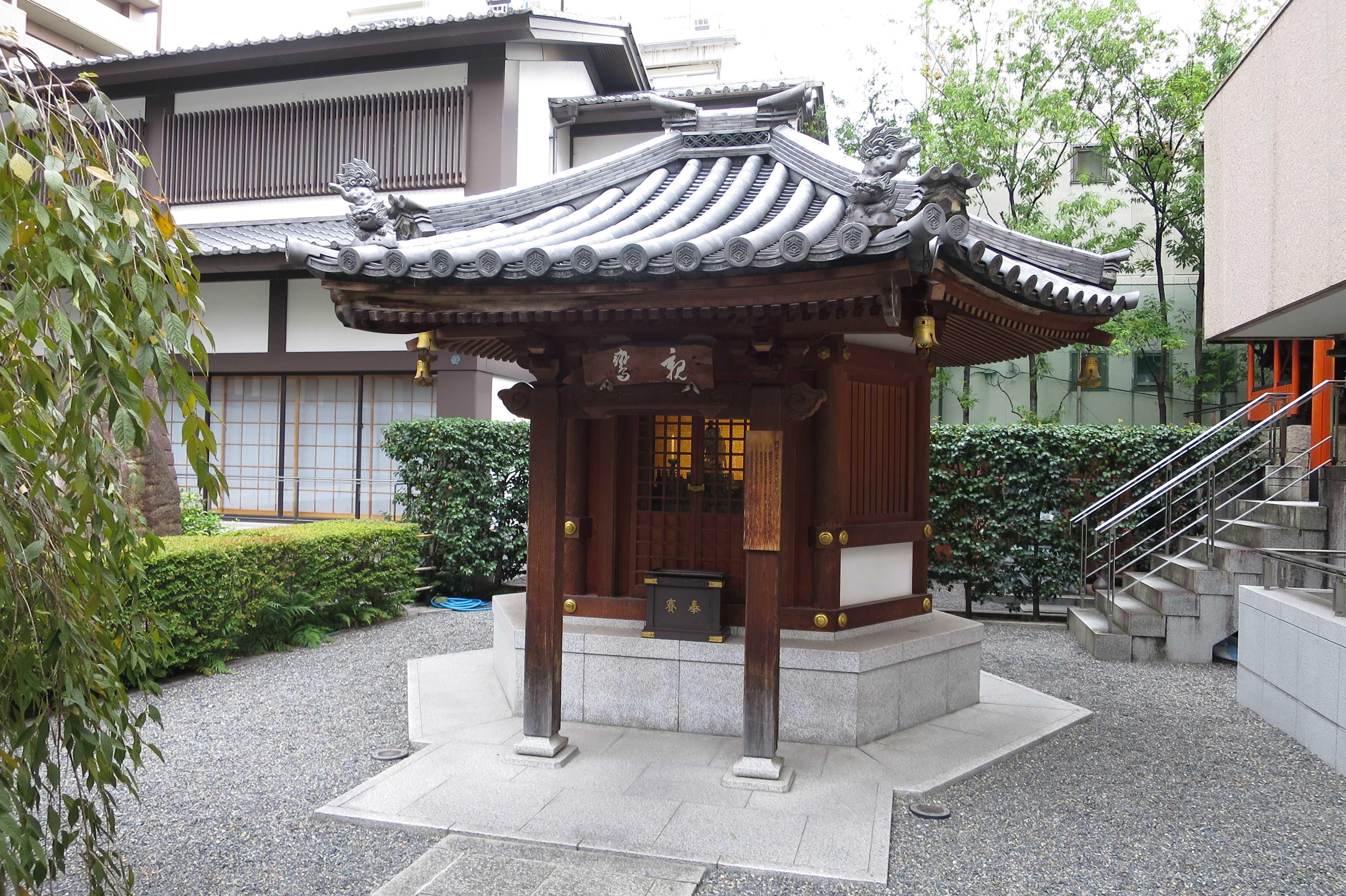 京都・六角堂 - 親鸞堂