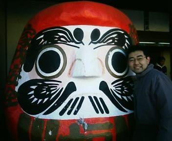 新春だるま市 - 高崎の少林山達磨寺