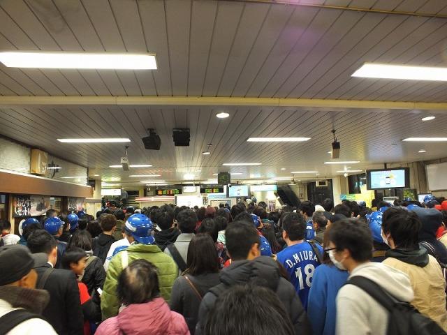 JR関内駅構内